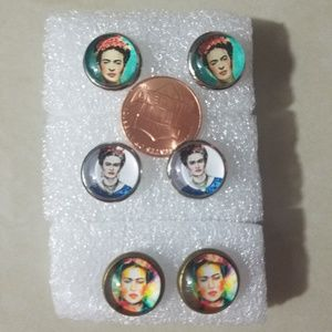 Jewelry - Frida kahlo stud earrings